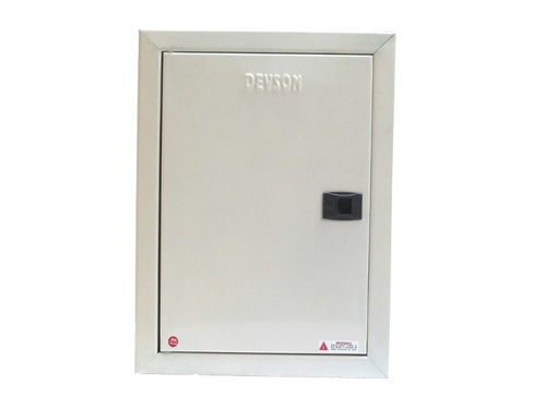 8 Way TPN Double Door MCB Distribution Board