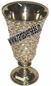 Crystal Metal Vase 1