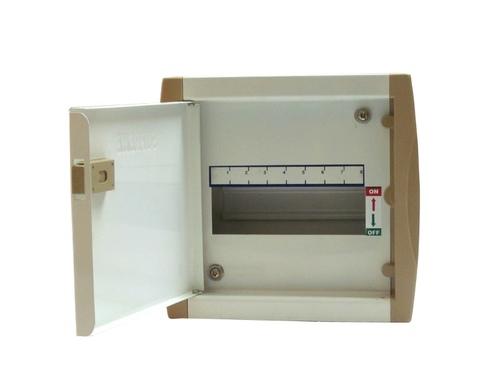 8 Way SPN Double Door MCB Board