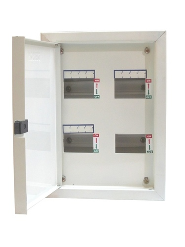 4 Way TPN Double Door MCB Distribution Board