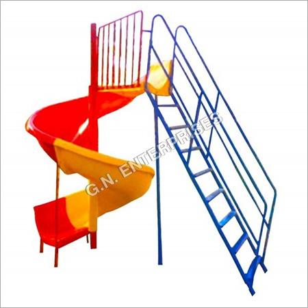 Spiral Playground Slides