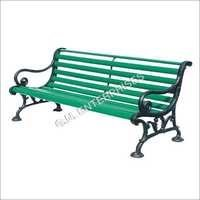 Light Cast Iron Garden Bench