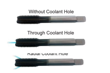 Straight Flute Cast Iron Tap