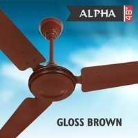 ALPHA GLOSS BROWN Ceiling Fan