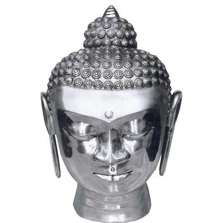 Aluminum Buddha Head