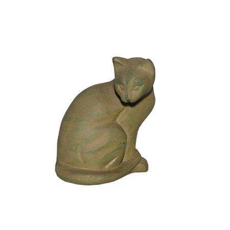 Antique Cat Statue