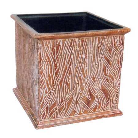 Handcrafted Square Planter