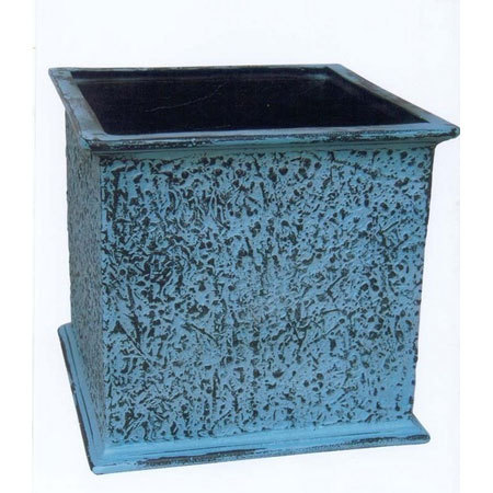 Patina Square Planter