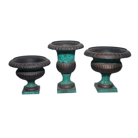 Decorative Three Piece Planter Set