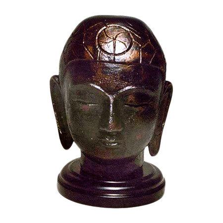 Brass Antique Glossy Buddha Statue