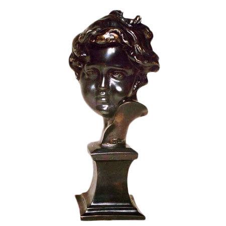 Glossy Cherub Statue