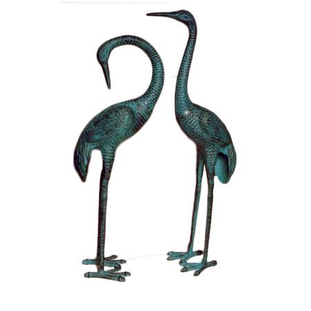 Garden Crane Pair
