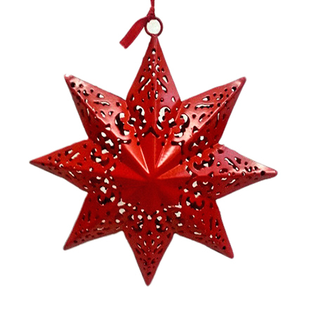 Merry Christmas Hanging Star