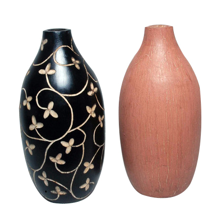 Exotic Wood Vases