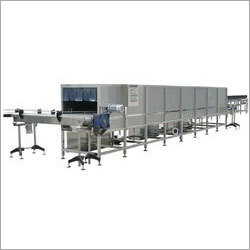 Bottle Warming and Cooling Conveyor
