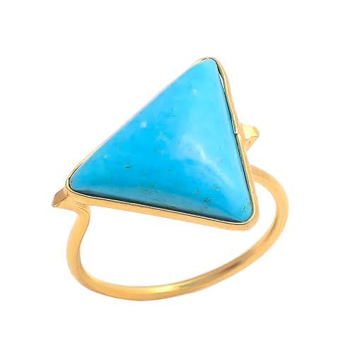 Turquoise Gemstone Fashion Ring