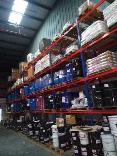 High rise pallet stacking rack