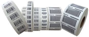 Barcode Printed Labels