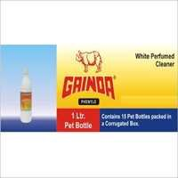 White Liquid Disinfectant