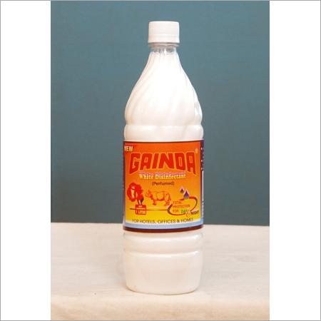 White Disinfectant Liquid