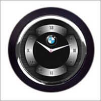 Chrome Finish Wall Clocks