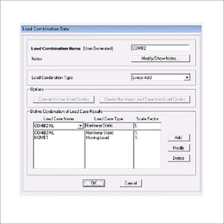 SAP2000 Load Combinations