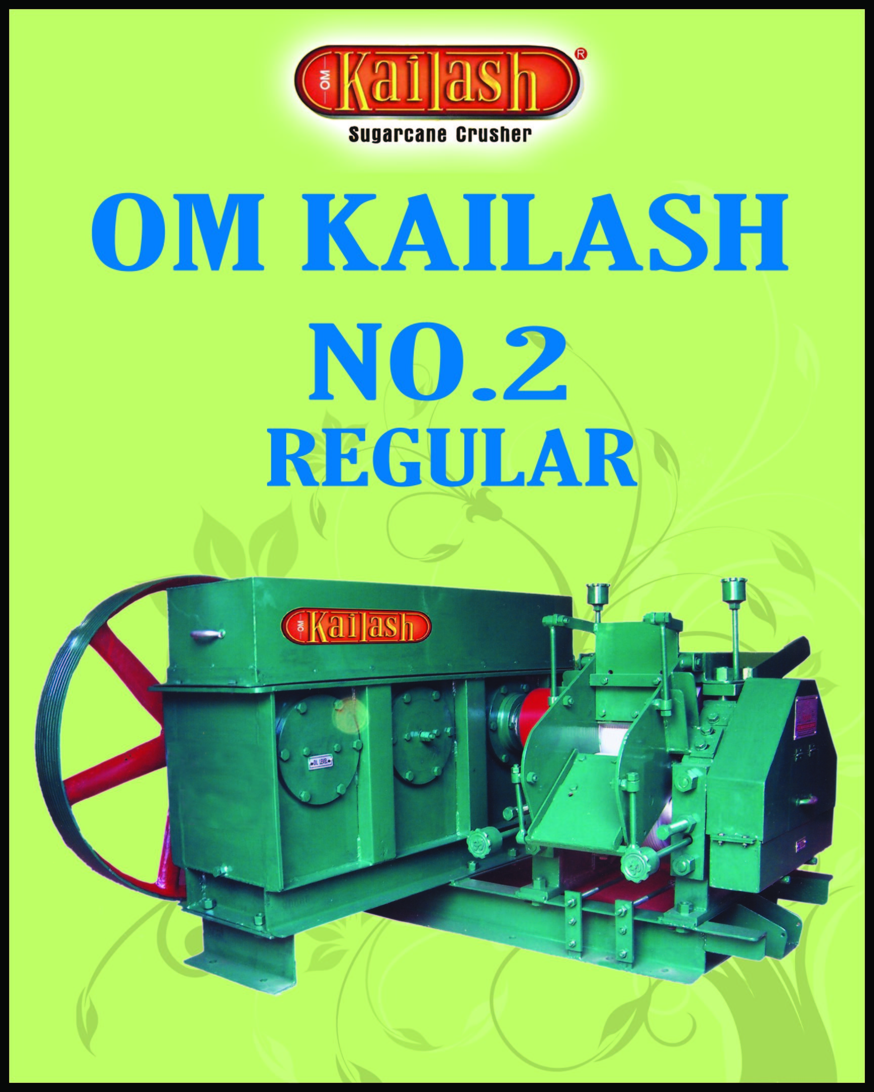 Regular Model Single Mill Sugarcane Crusher