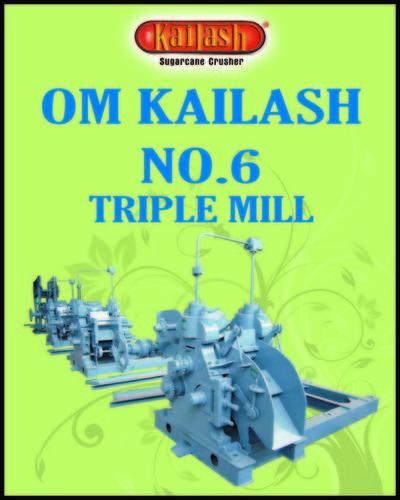 No.6 Super Jumbo Total Heavy Triple Mill