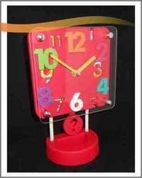 Plastic Table Clock