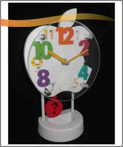 Plastic Table Clock