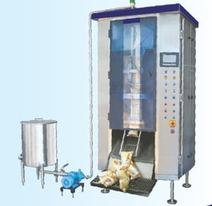 Edible Oil Automatic Pouch Form Seal Machines