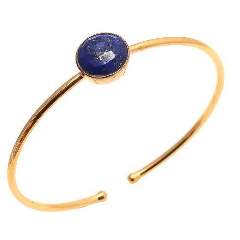 Lapis Lazuli Gemstone Bangle