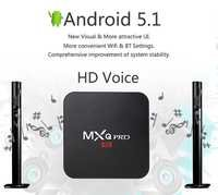 MXQ PRO 4K Android 5.1 Smart TV Box  64 Bit Quad-Core Supports