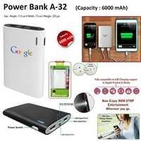Power Bank A-32 - 6000 MAH
