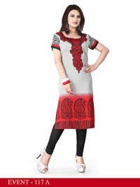 Wonderful American Crepe Kurti