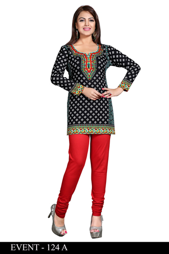 Well Formed American crepe kurti