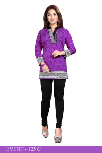 Excellent American crepe kurti