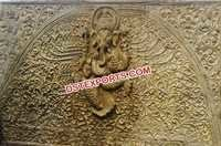 Wedding Fiber Ganesha Backdrop Panel Frame