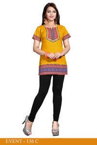 Fascinating American crepe kurti