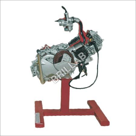 Model Of Four Stroke Single Cylinder Engine Assemb