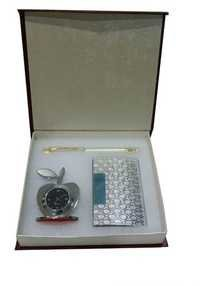Apple Silver Gift Set