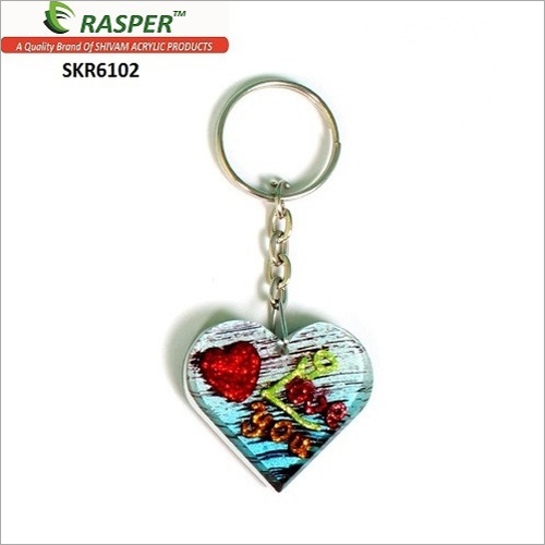 Heart Shape I Love You Designer Keychain By RASPER