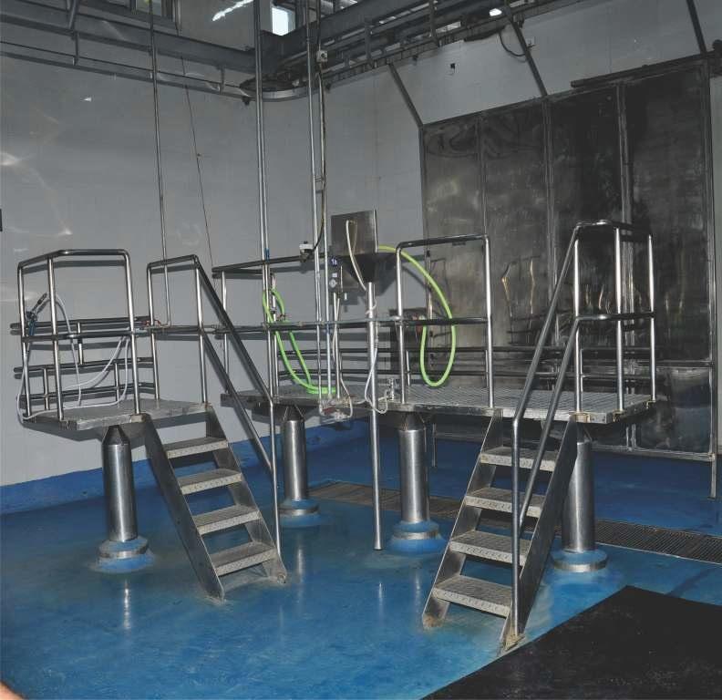 Trimming and Washing Platform