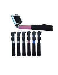All in one Handheld Remote Selfie Stick Extendable Telescopic Monopod