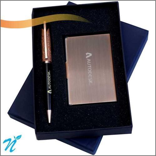 Pen & Card Holder Sets