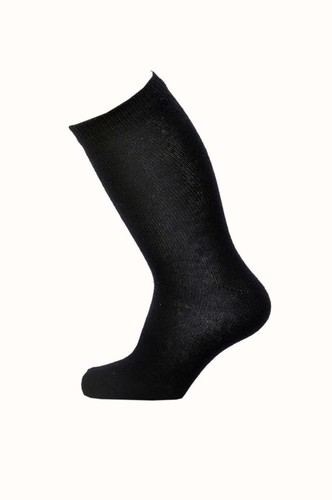 Plain Black Baby Socks