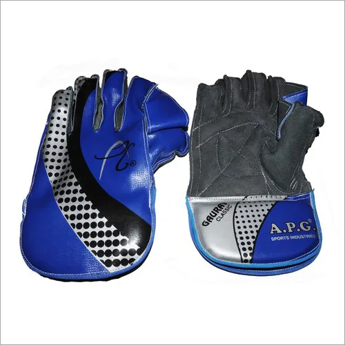 APG Blue Wicket Keeping Gloves (GAURAV CLASSIC)