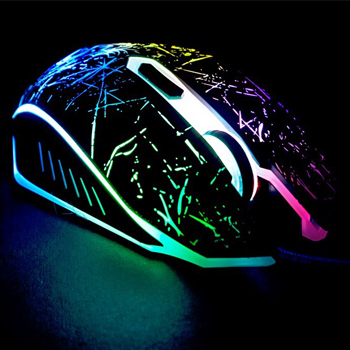 2000DPI Adjustable Optical usb Wired Gaming Game Mice Mouse For Laptop PC