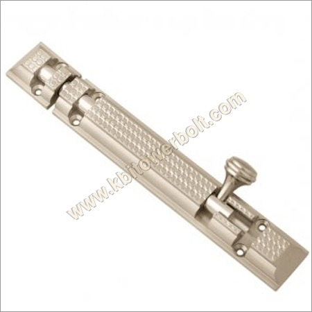 Brass Royal Diamond Cut Tower Bolts