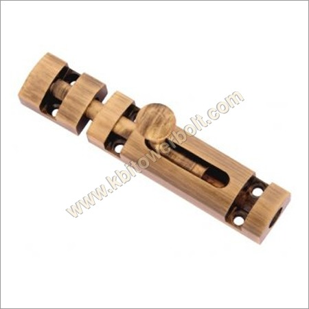 Brass Zorik Tower Bolt Type Baby Latch